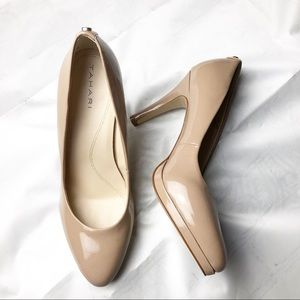 New Tahari Gallery Patent Leather Heels Pumps 9